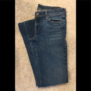 EUC Citizens Of Humanity stretch flair jeans